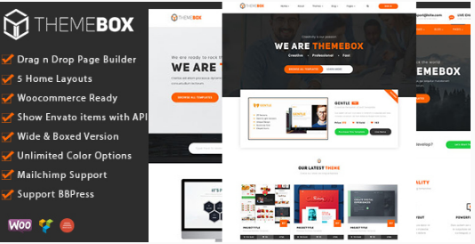 theme box Best WordPress Technology Themes