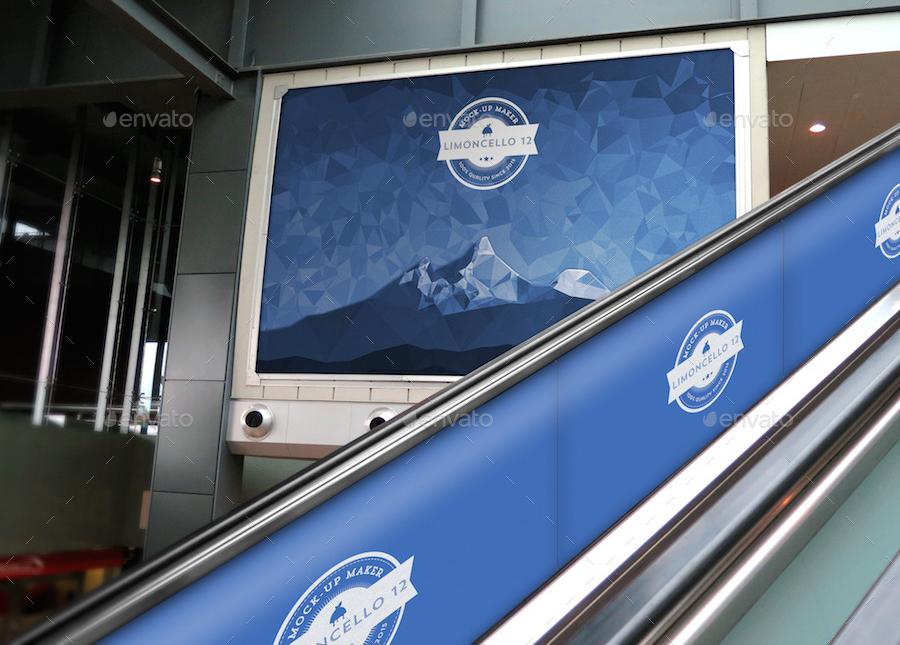 20 Brilliant Indoor Advertising Mockups 2020