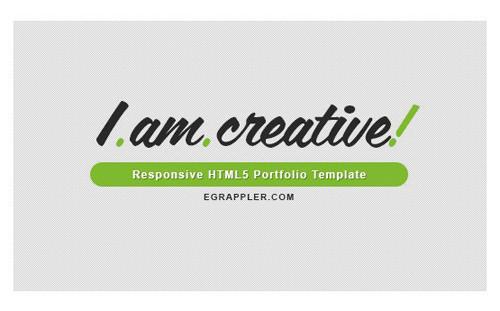 3-I-am-Creative-template