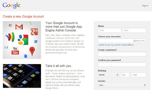 4-Create-Gmail-account