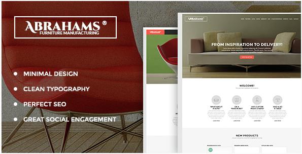Abraham's - Furniture Store & Interior Design Theme