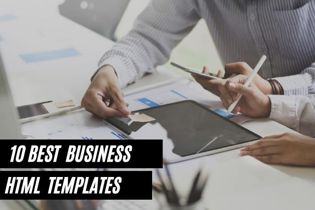 Best Business Html Templates