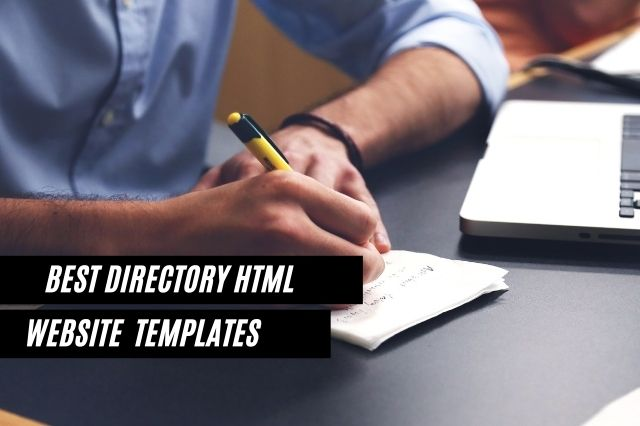Best Directory HTML Templates