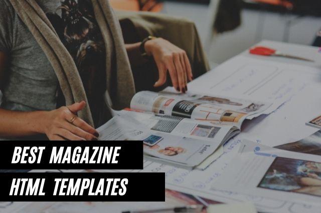 Best Magazine HTML Templates