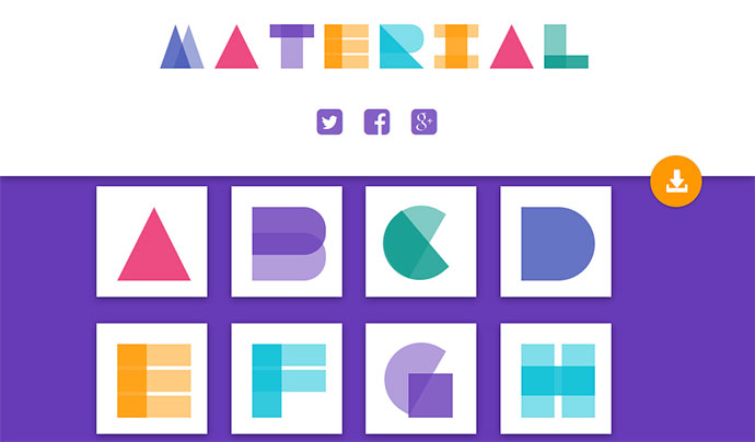 Alphabets in CSS