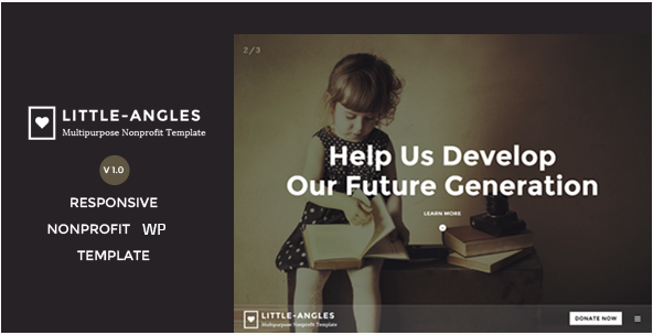 Angel - Nonprofit Charity WordPress Theme