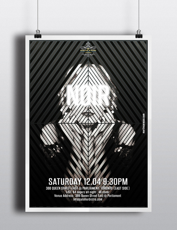 Animated Party Posters