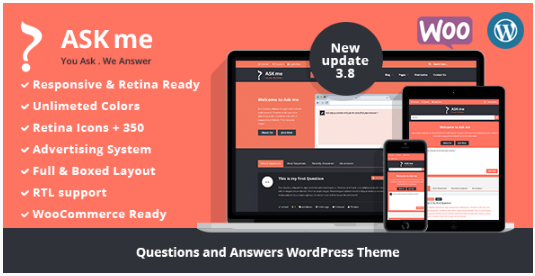 Wordpress Question Answer Themes