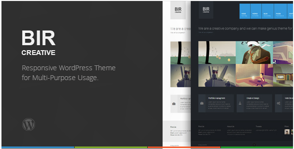 BIR - Responsive Creative WordPress Theme