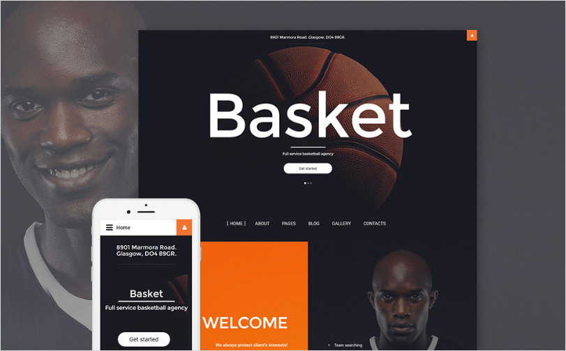 Basket Joomla Template