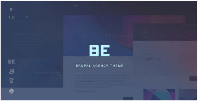 Be - Creative Multipurpose Agency Theme