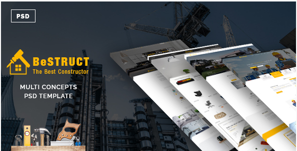 BeStruct - Multiconcept Construction PSD Template