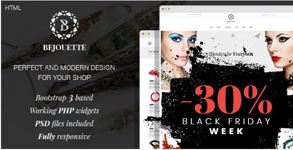 Bejouette - Handmade Jewelry Designer HTML Template