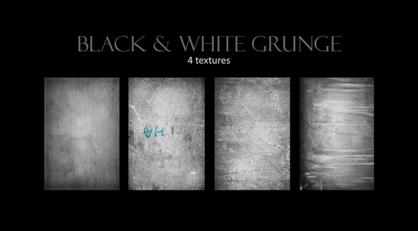 Black and White Resources Grunge Textures - Copy