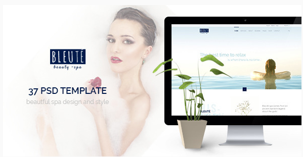 Best Beauty Salon PSD Templates