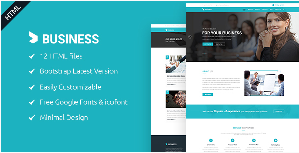 Business - Agency & Corporate HTML5 Template