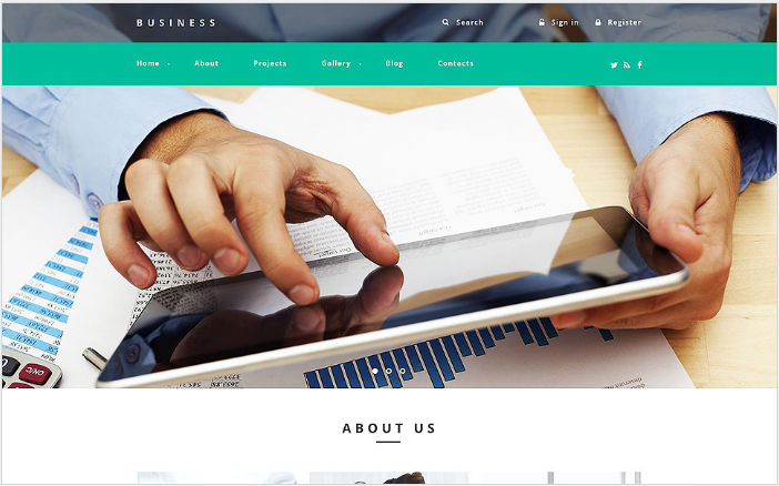 Business Agency Drupal Template