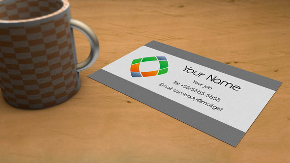 Business card Mockup by Szesze15 (FREE PSD)