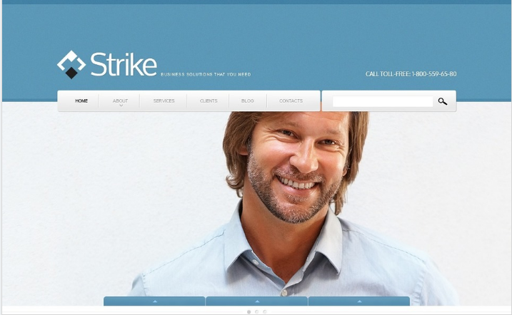 Business to Business Drupal Template