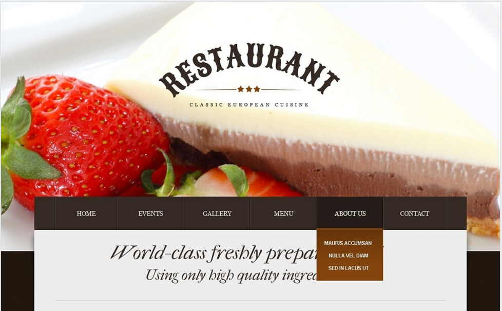 Best Food And Resturant Drupal themes