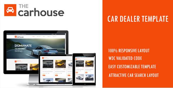 Car House - Car Dealer Template