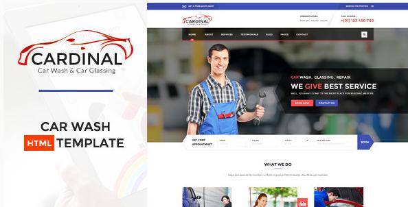 Car dinal - Car Wash & Workshop HTML Template
