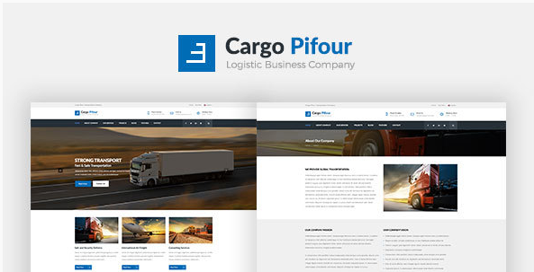 Cargo Pifour - Logistic and Transportation HTML5 Template