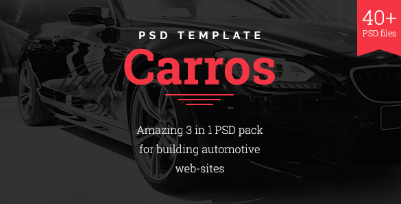 Best Car PSD Templates
