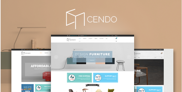 Cendo - Responsive HTML Furniture Template