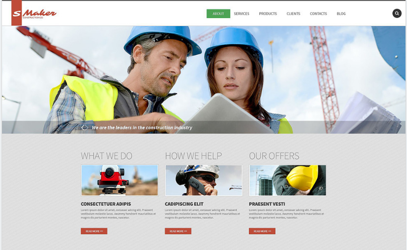 Best Construction Drupal Themes