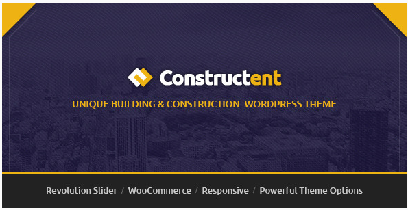 Constructent - Responsive Construction WordPress Theme
