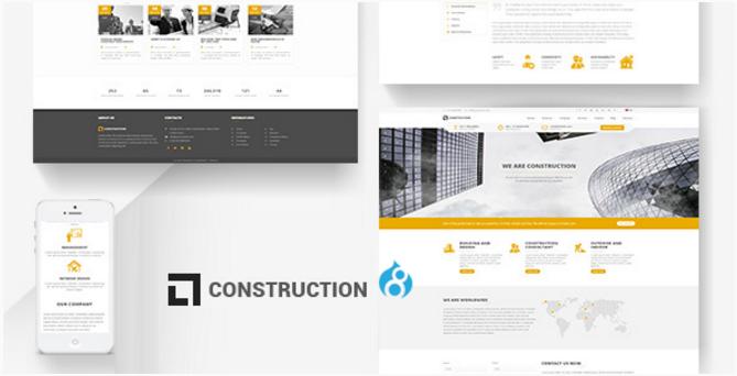 Construction - Building Drupal 8 Theme