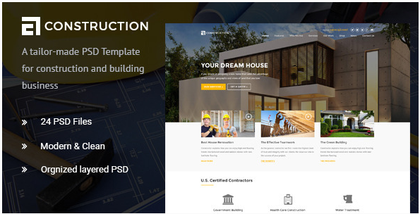Construction - Construction & Building PSD