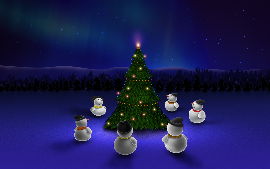 Creative-Christmas-Wallpaper