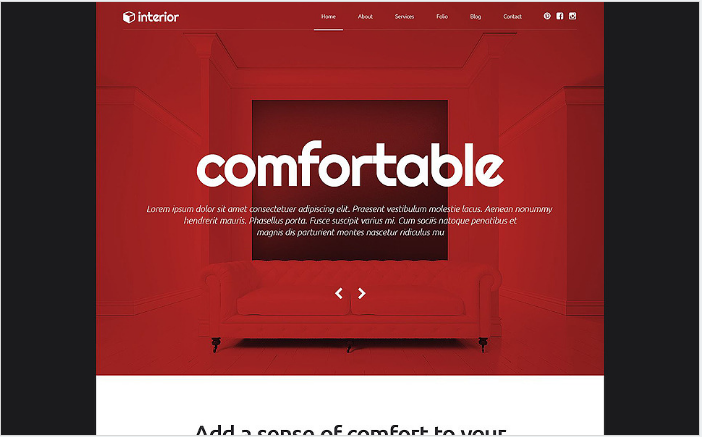 Decor and Furniture WordPress Theme