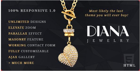 Diana e-Commerce HTML Template
