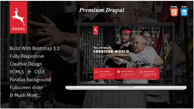 Doors - Onepage Corporate Multipurpose Drupal Theme