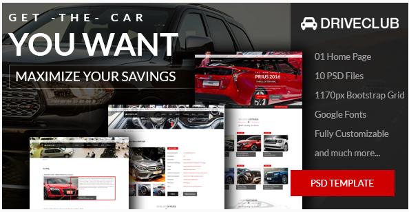 DriveClub - Car Dealer