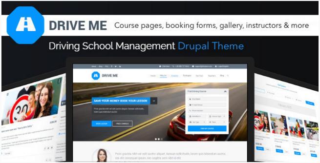 Driveme - Driving Class, School, Education Theme