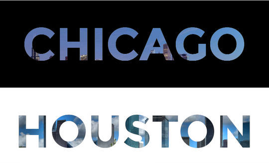 Easy Cross-Browser Text Masks with Blend Modes