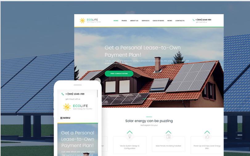 Eco Life - Environment & Ecology WordPress Theme