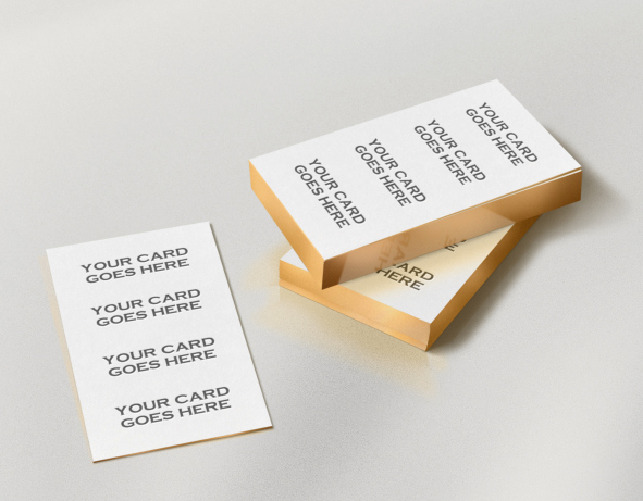 Edge Business Cards MockUp