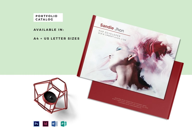 Editable Portfolio Catalog Template