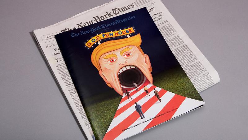 Editorial-Illustration-Donald-Trump