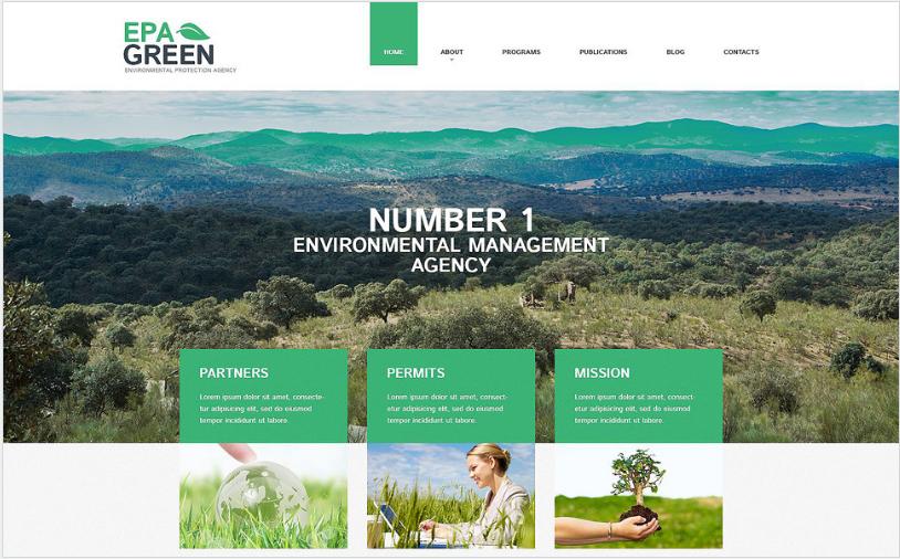 Best Environmental WordPress Themes