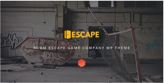 Escape - Real Life Room Escape Game Company WP Theme
