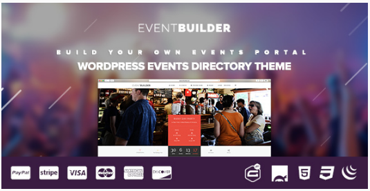 EventBuilder - WordPress Events Directory Theme