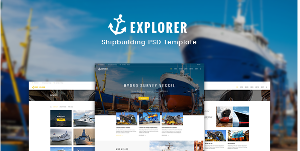Explorer - Construction Ship Building Template