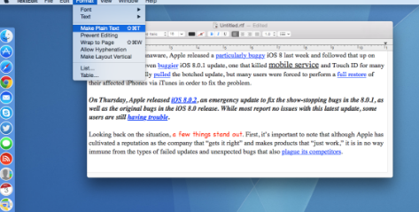 How to Save Files in TXT Format in TextEdit on Mac
