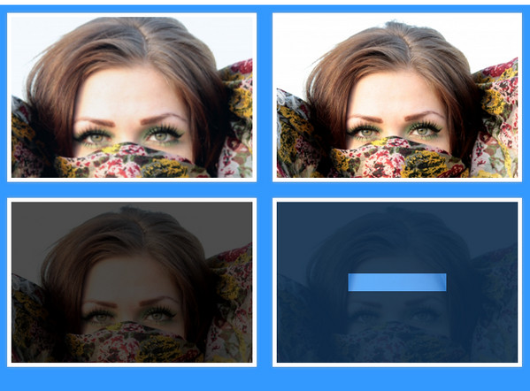 Face Hover Effect